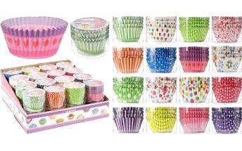 Papírové košíčky na muffiny 80 ks EXCELLENT