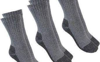 ASTRO SPORT Ponožky ASTRO TOUR - 3 páry, Ponožky - velikost 25 - 26