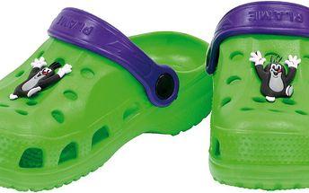 Dětské sandály Krteček - zelené