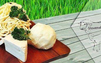 Korbáčiky, bryndza a ovčí sýr ze Slovenska