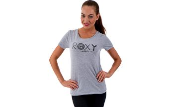 Roxy Basic Crew G Heritage Heather, šedá, 38