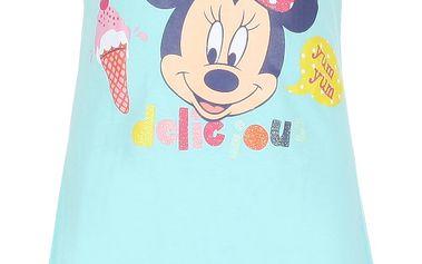 Dívčí azurové šaty Minnie