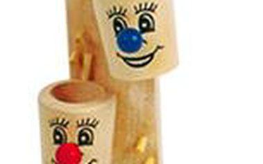 Krásná dřevěná hračka Tobogán