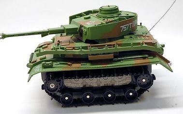 Obojživelný RC tank na dálkové ovládání