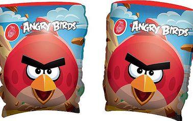 BESTWAY Nafukovací rukávky - Angry Birds, 23x15 cm