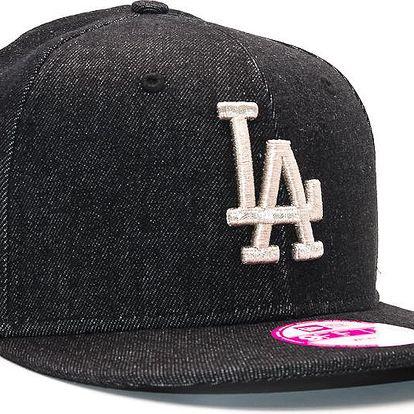 Dámská Kšiltovka New Era Denglitz Los Angeles Dodgers Black/Silver Snapback