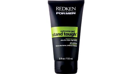 Gel s extrémní fixací pro maximální kontrolu a lesk Redken For Men Stand Tough Gel 150 ml