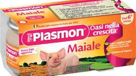 2x Plasmon Vepřové maso Plasmon 80g