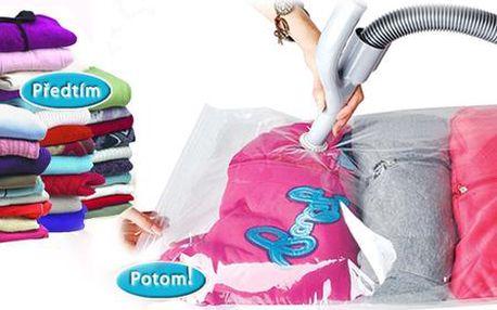 10 vakuových pytlů na oblečení s poštovným zdarma