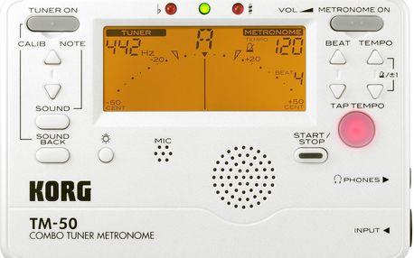 Ladička s metronomem Korg TM-50C PW