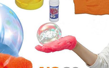Magický bublifuk Juggle Bubbles - dělá bubliny, které nepraskají! Lze si s nimi pinkat, házet, apod.