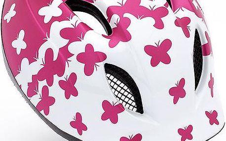 Cyklistická přilba pro děti MET Buddy Pink