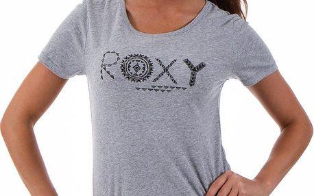 Roxy Basic Crew G Heritage Heather, šedá, 38