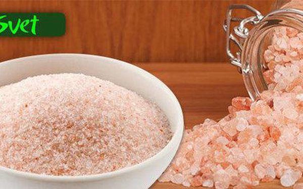 Himalájská sůl růžová 1 kg nebo 3 kg