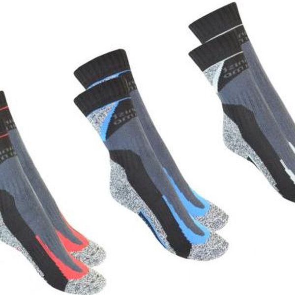 NOVIA Ponožky Silvertex Alpining - 3 páry, Ponožky - velikost 28-29