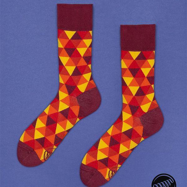 Ponožky Flame Triangles, vel. 43/46
