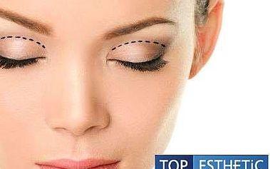 Operace očních horních či dolních víček na klinice TOP ESTHETIC