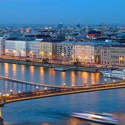 3 nebo 4 dny v Budapešti včetně snídaní