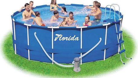 Bazén s kartušovou filtrací + schůdky MARIMEX Florida 3,66 x 0,99 m KF M1