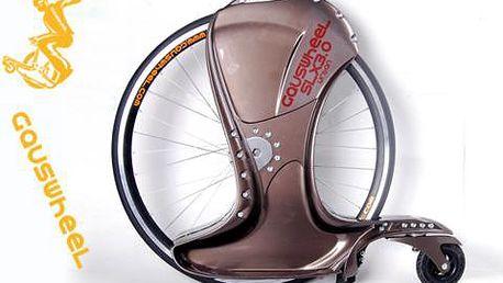 Gauswheel kolo - originální spojení kola a koloběžky