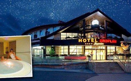 Letní pohoda v Hotelu Eroplán**** v Beskydech