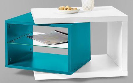 Tchibo, Odkládací stolek, bílý White