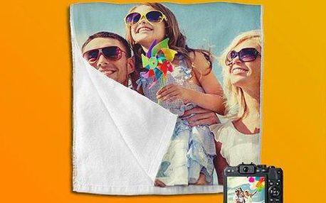 Kvalitní ručník nebo osuška s vaší vlastní fotografií