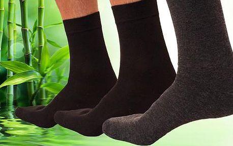 12 párů antibakteriálních ponožek s bambusovými vlákny, poštovné zdarma