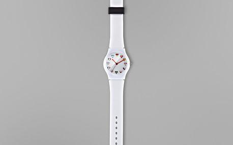 Tchibo, Náramkové hodinky, bílé