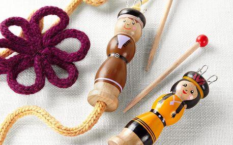 Tchibo, Cívky na pletení dutinek, 2 ks