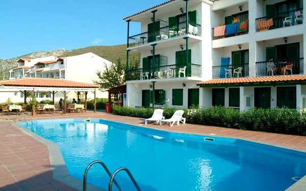 Hotel Rachoni Bay, Thassos, Řecko, letecky, polopenze