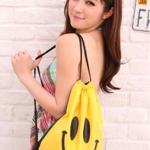 Stahovací batoh Smile v různých barvách!