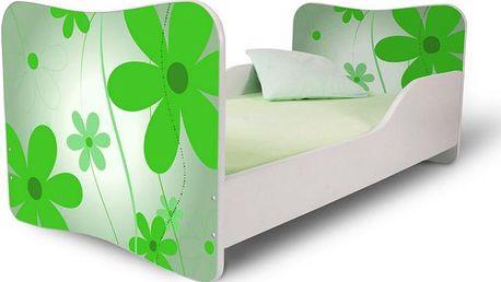 Dětská postel Květiny 2