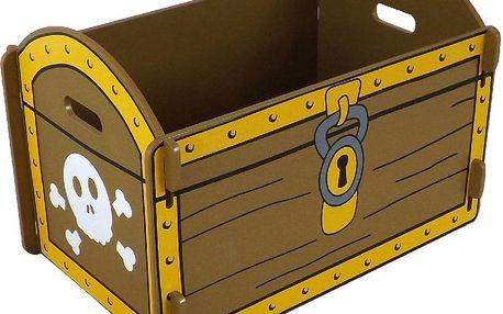 Bedna na hračky Treasure Chest - doprava zdarma!