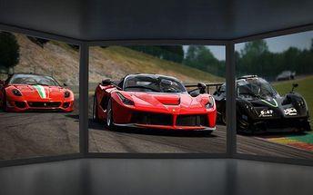 60 minut na 3D automobilovém závodním simulátoru v Praze