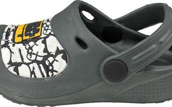 Chlapecké sandály Star Wars - šedé