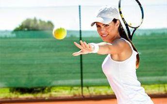 Celých 120 minut hry tenisu v nejkrásnějším tenisovém areálu BLTC v Lužáneckém parku.
