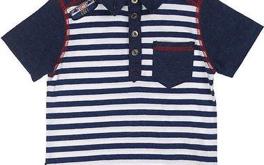 Chlapecké tričko - pruhované, modré