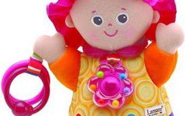 Půvabná panenka Emilka speciálně navržena pro rozvoj dítěte