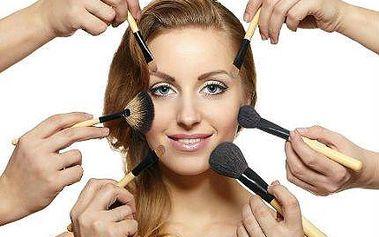 Nabitý kurz líčení pro dámy i slečny se slevou 63 %
