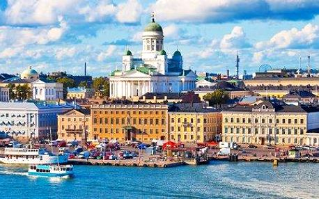 Riga, Tallin a Helsinky na 5 dní včetně ubytování