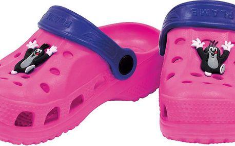 Dívčí sandály Krteček - růžové