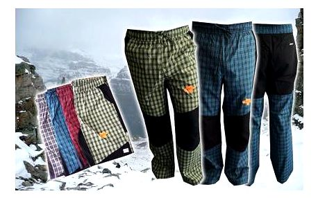 Pánské sportovní kalhoty značky Neverest jen za 289 Kč! Funkční, skvělé na túry, výběr ze čtyř barev.