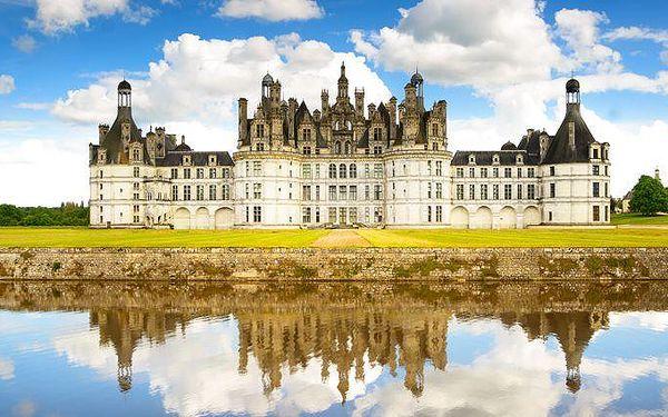 4denní poznávací zájezd na nejkrásnější zámky na Loiře ve Francii pro jednoho