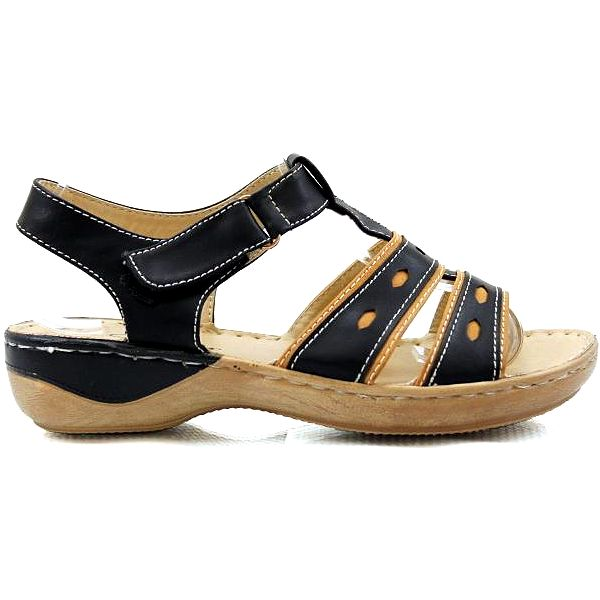 Dvoubarevné sandálky 6787-1B