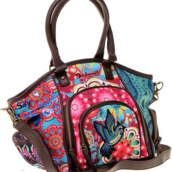 Desigual vícebarevná dámská kabelka