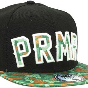 Kšiltovka Premier Fits PRMR Black/Green PF Duck Camo Snapback