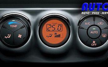Autoklimatizace – čištění, plnění, dezinfekce ozonem