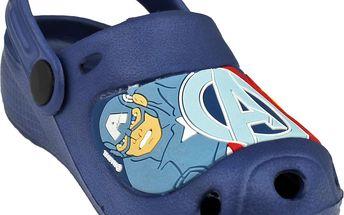 Chlapecké sandály Avengers - modré