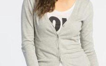 Vero Moda - Svetr Glory - šedá, M - 200 Kč na první nákup za odběr newsletteru